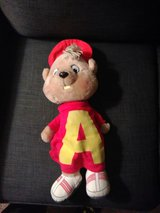 Vintage talking Alvin Large plush in Yorkville, Illinois