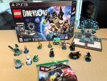 Playstation 3 Lego Dimensions Starter Kit Plus extra Figures in Aurora, Illinois