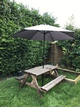 Garden Parasol in Lakenheath, UK