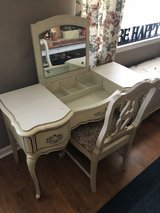 REDUCED Antique French provincial vanity in Byron, Georgia