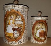 Vintage Canisters~Sears, Roebuck & Co., 1978 in Fort Irwin, California