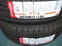 Tire (265/70R15 2tire) in Okinawa, Japan