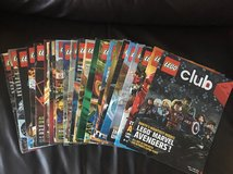 23 LEGO Club Magazines in Bolingbrook, Illinois