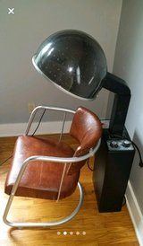 overhead hairdryer and chair in Morris, Illinois