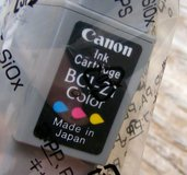 4 Colors, CANNON Ink Cartridges - NEW, BCI-21 in Alamogordo, New Mexico