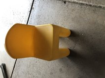 Kids yellow chair in Chicago, Illinois