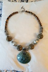 Tiger eye necklace in Ramstein, Germany