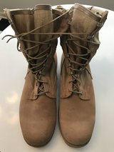 Mens Shoes: Tan Combat boots in Fort Campbell, Kentucky