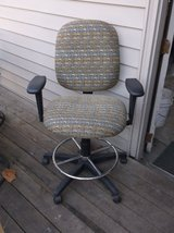 Professional Office Chair for higher workstation in Plainfield, Illinois