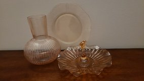 Depression Glass Collection in Plainfield, Illinois