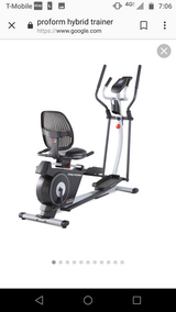 Pro-form hybrid trainer in Chicago, Illinois