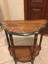 Hand printed Cute Solid Wood Accent Table in Westmont, Illinois
