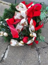 Christmas Wreath in Camp Lejeune, North Carolina