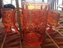 Acrylic Pitcher & Glasses in Yorkville, Illinois
