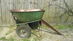 Wheel barrow lawn cart in Cherry Point, North Carolina