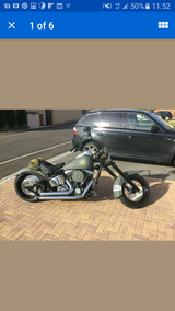Harley Davidson Custom Chopper/Bobber in Lakenheath, UK