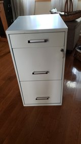 Three Drawer locking file cabinet in Plainfield, Illinois