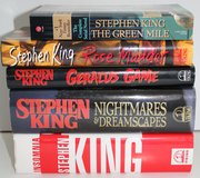 5 Stephen King books, 4 hardback 1 pb. in Naperville, Illinois