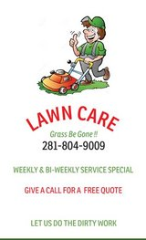 Lawn Care Serivces in Cleveland, Texas