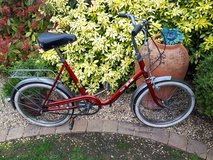 Red Puch Folding bike in Lakenheath, UK