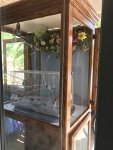 Bird Cage Solid Oak Bird House 2 cages with Glass Doors 24x 36x 8Ft (No Bird) in Camp Pendleton, California