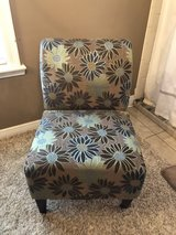 Floral upholstered slipper chair in Fort Polk, Louisiana