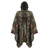 3D Leafy Leaves Clothing Jungle Woodland Hunting Camo Poncho Cloak *NEW* in Stuttgart, GE