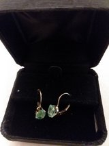 Leverback Emerald Earrings in Yorkville, Illinois