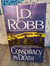 Conspiracy in Death by J.D. Robb  aka Nora Roberts, Book #8 in Byron, Georgia