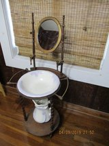 Antique Reproduction Wash Station in Leesville, Louisiana
