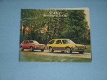 1977 AMC Brochure full car line-up in Glendale Heights, Illinois