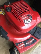 : ) TORO GAS MOWER.  Works Perfectly in Chicago, Illinois