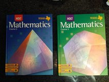 two mathematics books - selling as one lot in The Woodlands, Texas