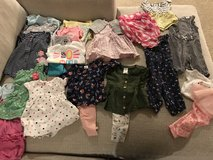 3 month spring and Summer baby girl clothes in Plainfield, Illinois