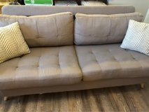 Grey Sofa in Fort Campbell, Kentucky