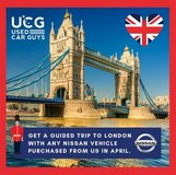 Nissan Promo - London trip and GREAT prices in Stuttgart, GE