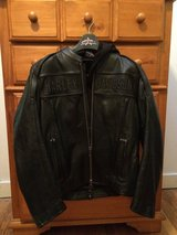 Harley Motorcycle leather jacket worn once in Fort Knox, Kentucky