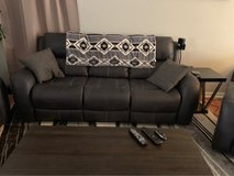 living spaces charcoal Deegan couch in Yucca Valley, California
