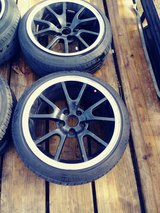 Nice Rims For Sale 4 with tires in Cherry Point, North Carolina