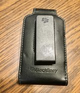 Blackberry Nappa Leather Swivel Holster Phone Case, Black in Westmont, Illinois