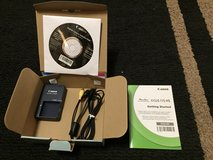 Cannon Power Shot ELPH100HS Battery Charger, Cords, CD, & Instructions in Westmont, Illinois