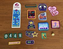 Girl Scout patches + Vest in Bolingbrook, Illinois