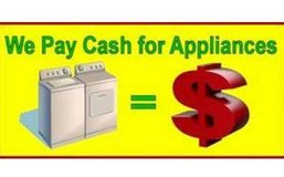 We Pay Cash For Your Broken Stoves Washers Dryers Refridgerators in Leesville, Louisiana