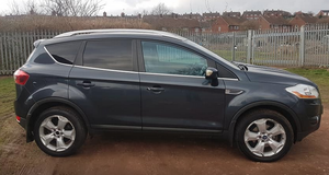 Ford Kuga/Escape TDCi diesel 4x4 Titanium X pack. Panoramic glass roof in Lakenheath, UK