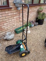 Hand Cylinder mower in Lakenheath, UK