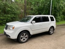 2012 Honda Pilot in good condition, garage kept, one owner in Houston, Texas
