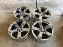 Challenger Chrome clad rims and lugs 20x9  (4) in Lockport, Illinois