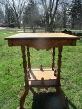 Antique Eastlake Small Table in Plainfield, Illinois