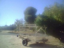 4 by 6 trailer Open utility trailer /will trade for home repairs plus a couple of swamp coolers in 29 Palms, California