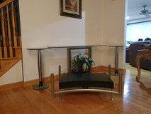 4 piece glass table set in St. Charles, Illinois